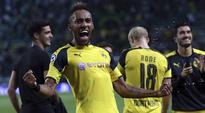 Borussia Dortmund's Pierre-Emerick Aubameyang doubtful for Schalke derby-coach
