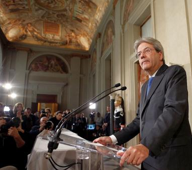 Paolo Gentiloni, Italian foreign minister, appointed PM