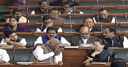 For fourth straight day, Congress stalls Lok Sabha proceedings