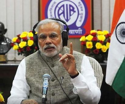 On 3rd anniversary, Modi says 'Mann Ki Baat' is to reflect people's views
