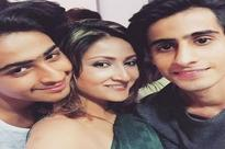 Urvashi Dholakia posts picture of her and sons' tattoos