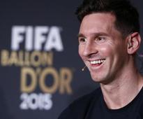 FIFA Ballon dOr winner Lionel Messi