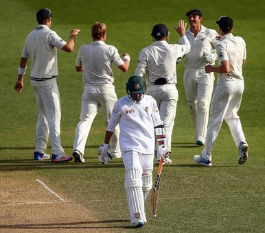 New Zealand eye unlikely win after Bangladesh's late collapse