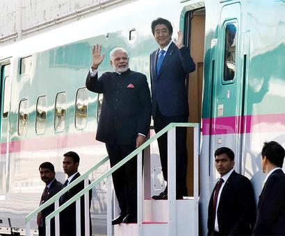 'The bullet train can be Modi's legacy'