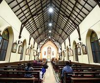 Amid cacophony, St Xavier's Church stands as an oasis of calm