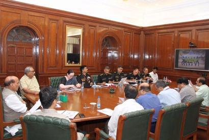 Rajnath reviews preparedness of 'Black Cat' commandos