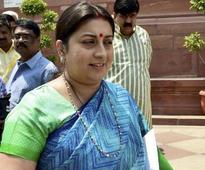 HRD minister Smriti Irani pays surprise visit to IIT Delhi hostels