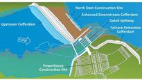 Nalcor continues Muskrat Falls cofferdam repairs, no damages reported yet