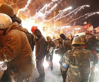 Violence outside Ukrainian parliament after vote