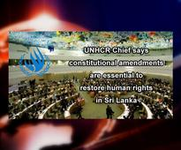 UN Human Rights Chief commends progress made by the Sri Lankan Government