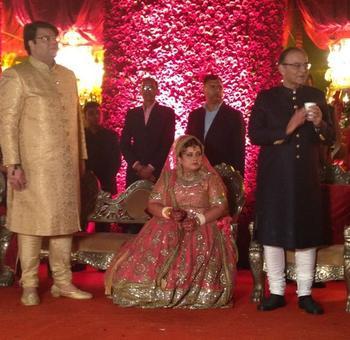 PHOTOS: Arun Jaitley's daughter's big Indian wedding