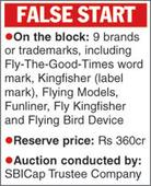 Kingfisher auction flops