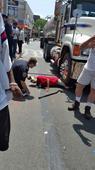 Elderly man struck by tractor trailer in Jamaica Hills, Queens - New York Daily News