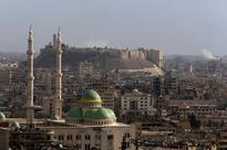 Intense Syrian bombing of besieged Aleppo, troops...
