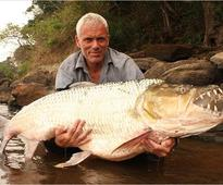 Big fish ever caught around world