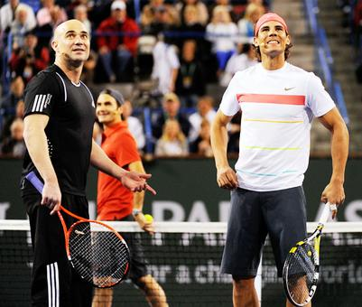 Agassi's inspiring note to 'decima'-chasing Nadal