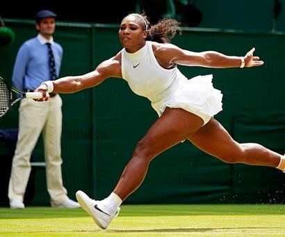 Three hundred up and counting as Serena powers through