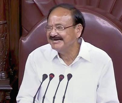 House should debate, not disrupt: Newly-elected RS Chairman Naidu