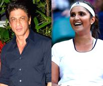 Shah Rukh Khan to release Sania Mirza's book in Hyderabad today