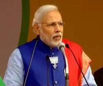 Modi rally: BJP fields PM in last lap of campaign to provide momentum