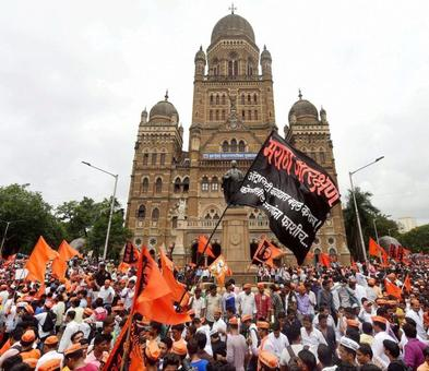 Fadnavis announces sops as Marathas stage massive show in Mumbai for quotas