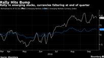 Emerging Stocks Retreat as Deutsche Bank Damps Sizzling Quarter