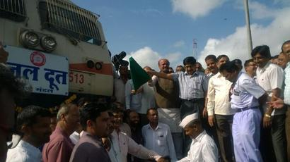 After delivering 2.79cr litres of water to parched Latur, 'Jaldoot' runs for the last time