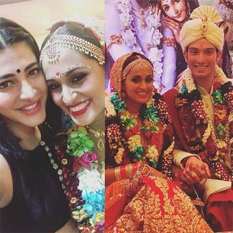 Singer Shweta Pandit gets married