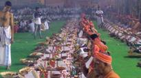 Free saris, 3000 devotees and 200 priests in 'yagna' for Jayalalithaa