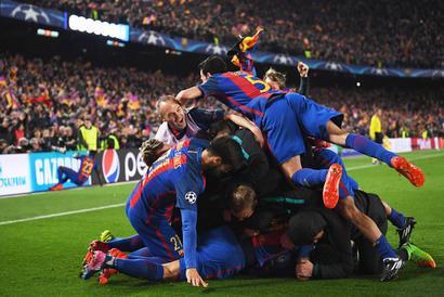 Post Camp Nou heroics, Barca now Champions League favourites