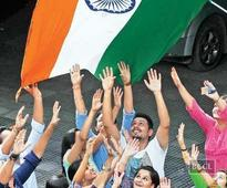 DU colleges hoist flag before I-Day to ensure attendance!
