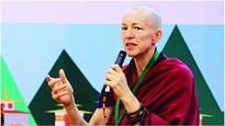 Meet Emma Slade, the monk who laughs