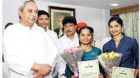 CM offers jobs to Dutee and Srabani