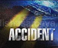 Train truck collision kills 2