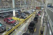 Ford shutting plants over next few weeks