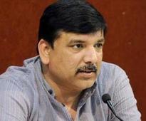 AAP spokesperson Sanjay Singh appears before court, gets bail