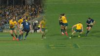 Brain snap! Wallabies star Quade Cooper goes from hero to zero in matter of minutes