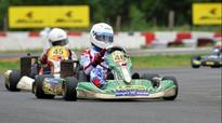 Ricky sweeps 8 races at JK tyre karting