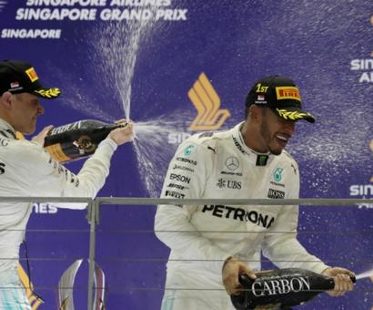 Is Hamilton close to winning fourth F1 title?