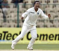 Ojha reaches 100-wicket milestone in Tests