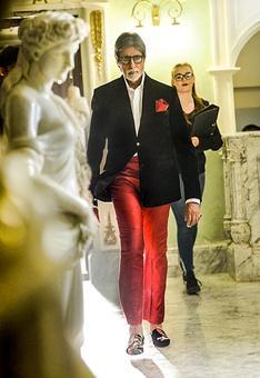 Amitabh Bachchan's cigarette pants