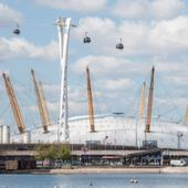 Going to the O2? Why not take your bike...by cable car