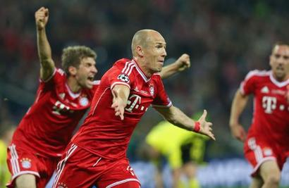 Bayern's Robben set to miss Benfica return leg