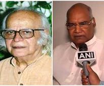 President Kovind condoles passing away of Professor Yash Pal