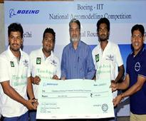IIT, NID students win aerospace design competition