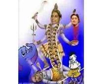 Hoardings showing Mayawati as Godd..