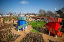 BBA certified Terrabound used in The Magic Garden, Hampton Court Palace