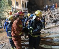 Bodies of central China landslide victims retrieved