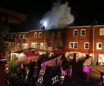 Two Firefighters Die Battling Delaware Rowhouse Blaze