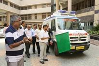 Airports Authority of India Flags off Ambulance service in Arunachal Pradesh